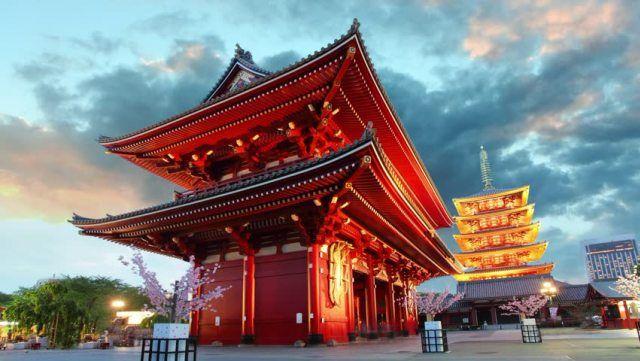 Asakusa Area di Jepang