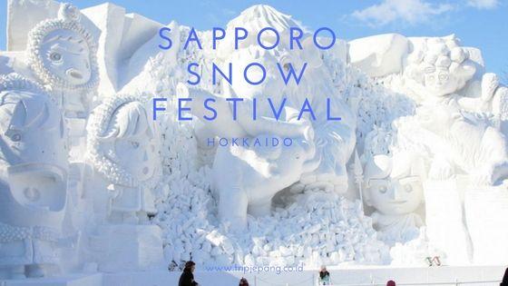 Paket Wisata Tour ke Jepang 5 hari Sapporo Snow Festival Wisata Salju Hokkaido Februari