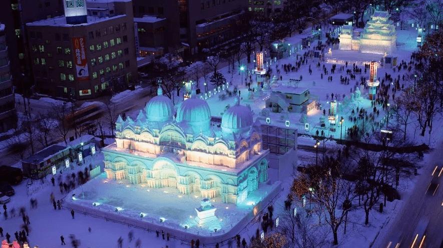 Paket wisata tour ke Jepang Sapporo Snow Festival Hokkaido