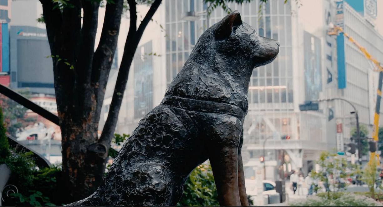 Patung anjing Hachiko