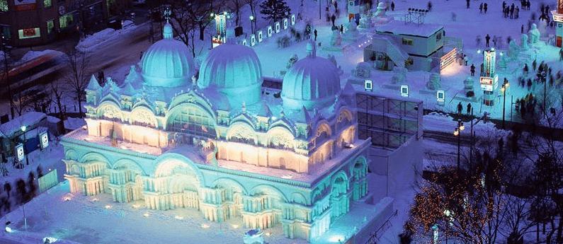 Sapporo Snow Festival Februari 2019
