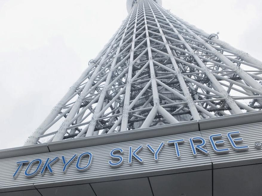 Sky Tree Ikon Pencakar langit di Tokyo