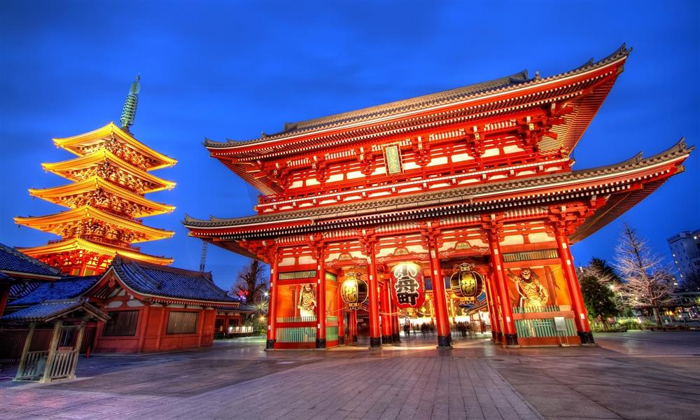 Asakusa Kanon Temple (Sensoji) Jepang