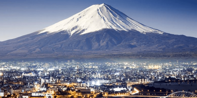 Gunung Fuji icon Jepang