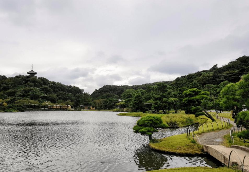 Keindahan Taman Sankeien di Yokohama