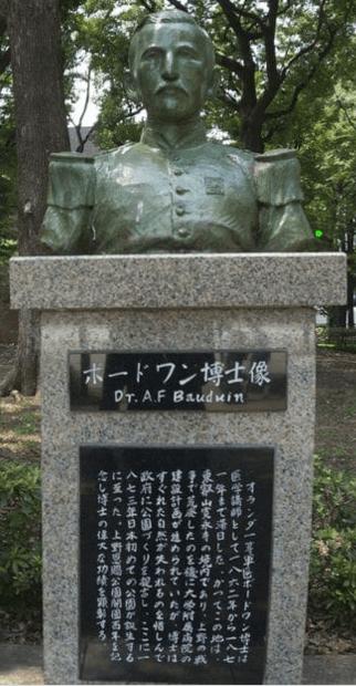 Patung Profesor Baudouin