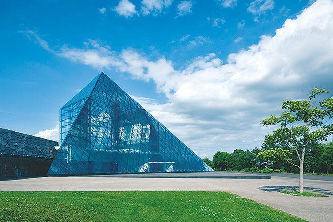 Piramida kaca Hidamari
