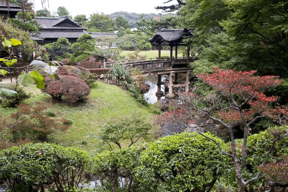 Yokohama Sankeien Garden di Jepang