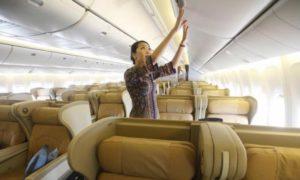 Riset harga tiket pesawat menggunakan website Skyscanner