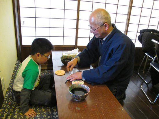 Workshop in Iuashi no Sato