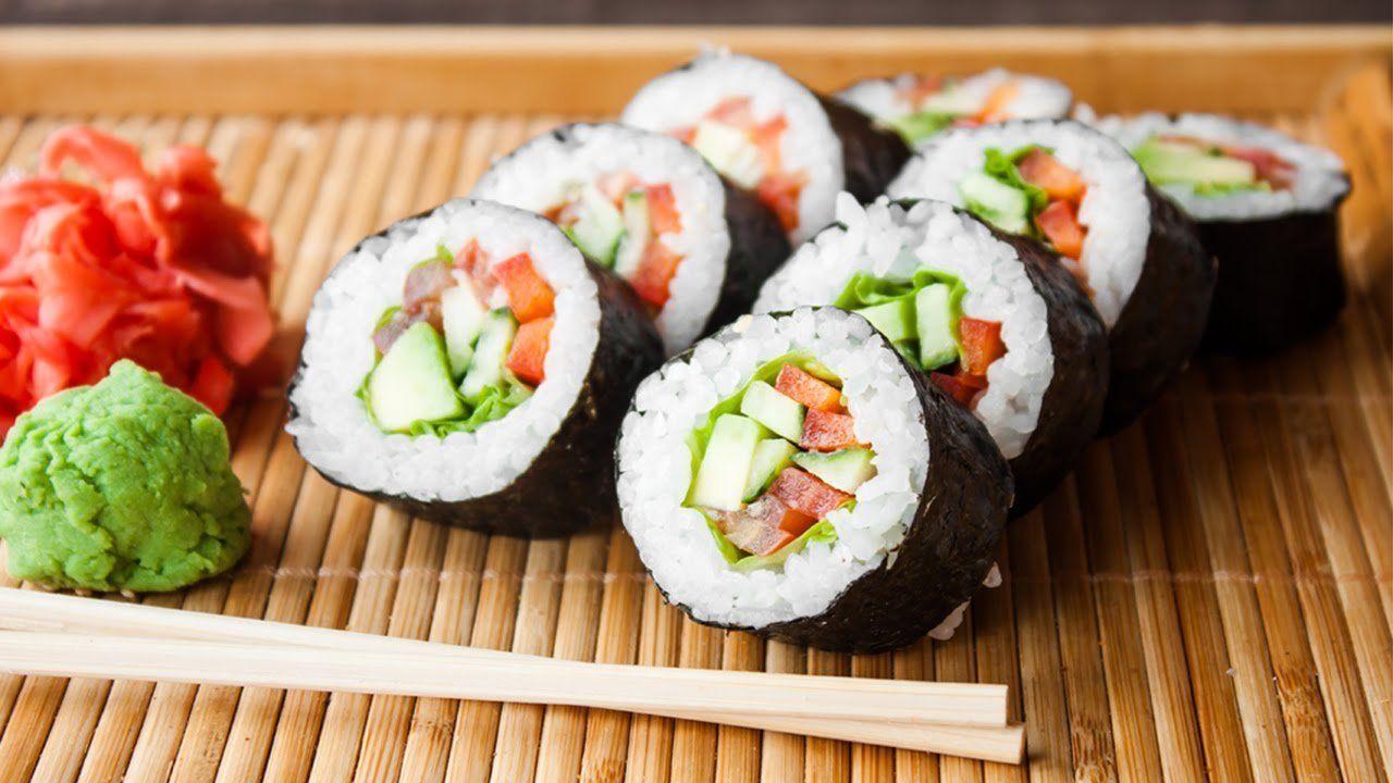 makanan khas jepang Sushi
