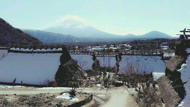 saiko iyashi no sato nenba folk village at saiko lake