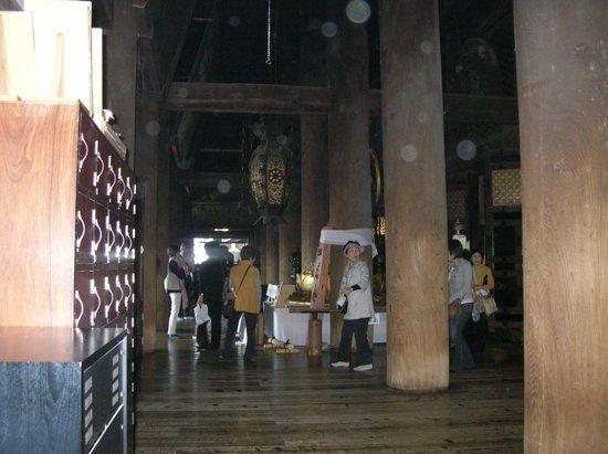 Bagian dalam Kiyomizudera