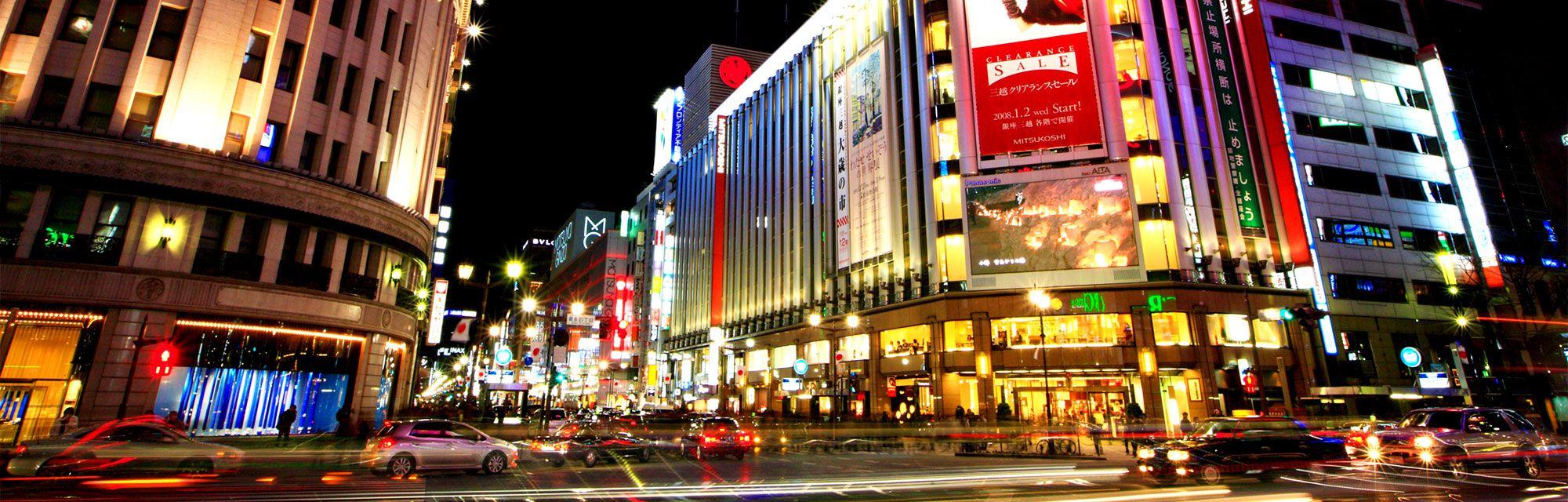Ginza Area Perbelanjaan Mewah nan Elite di Tokyo