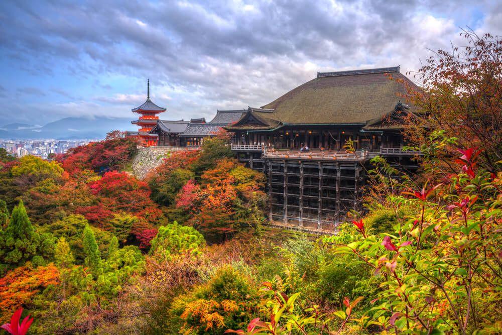 Kiyomizudera Temple Jepang