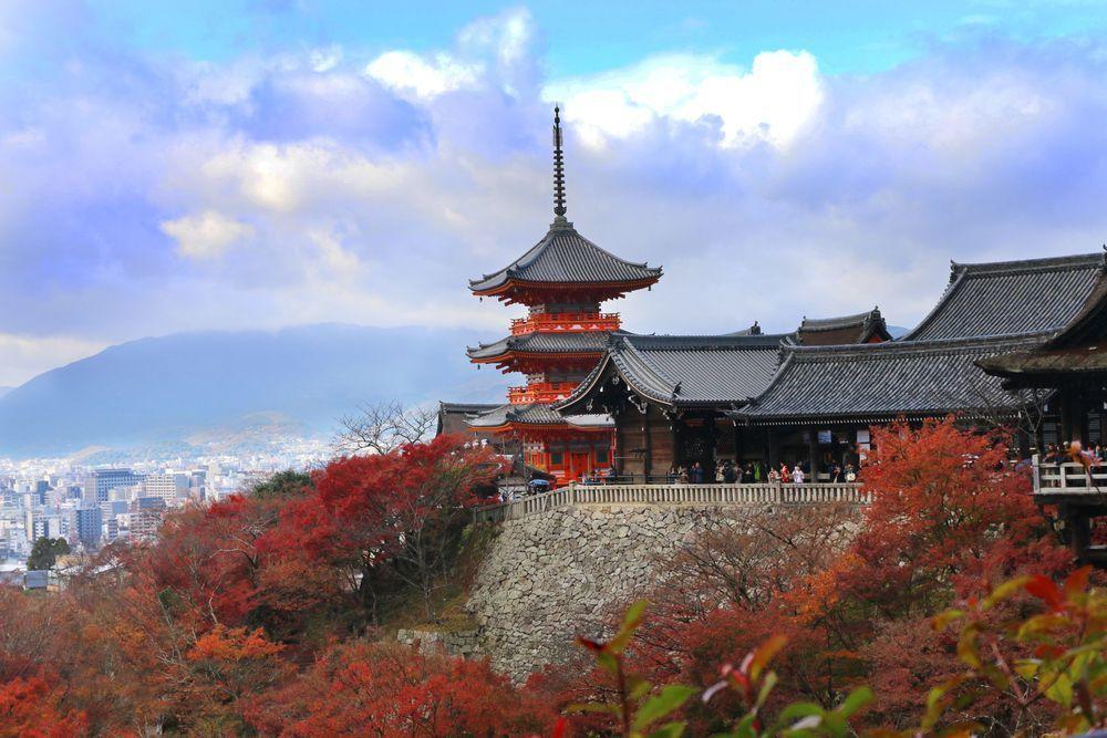 Kiyomizudera Temple Kyoto,Warisan Budaya di Jepang