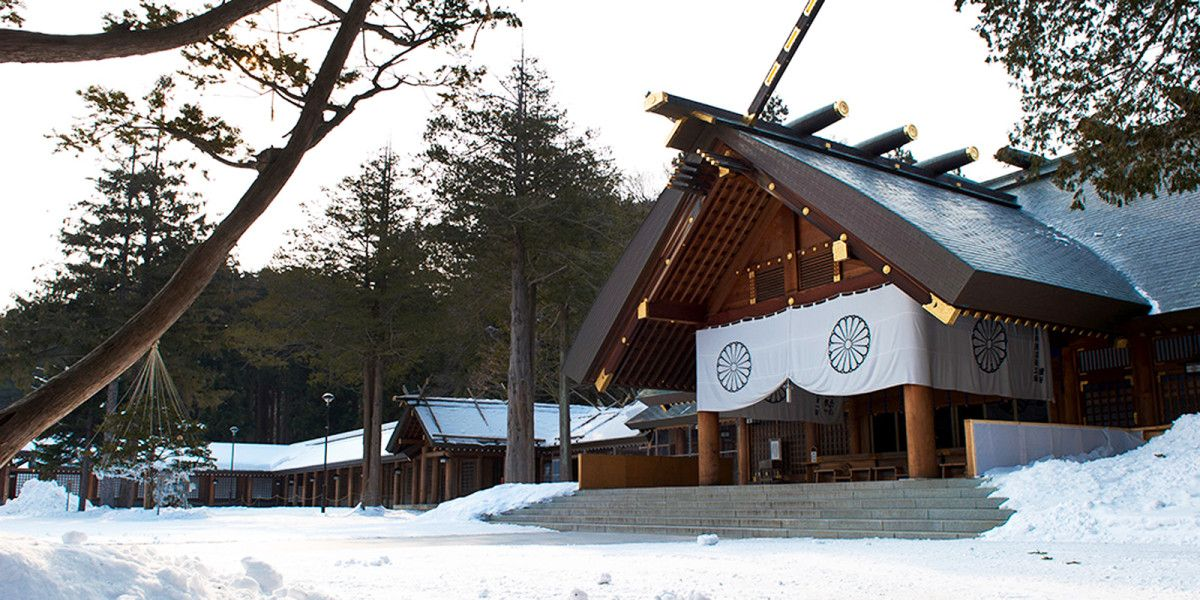 Kuil Hokkaido Kuil Suci di Kota Sapporo