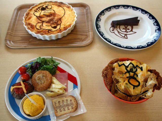 Makanan bertema Doraemon