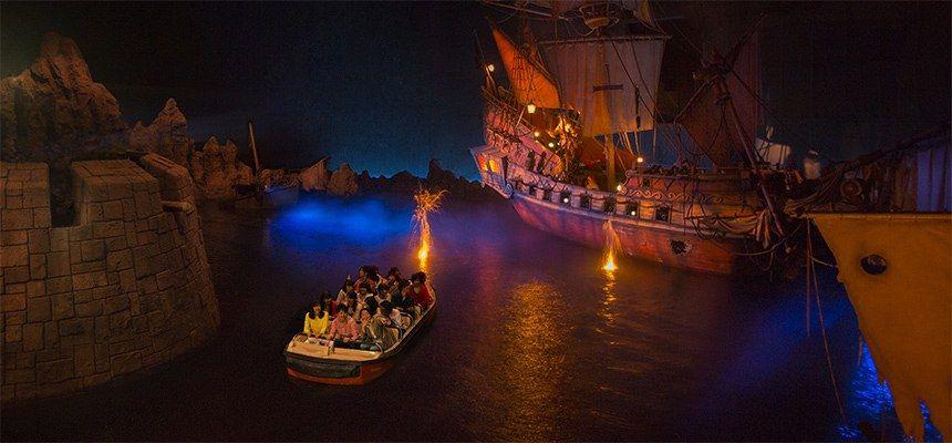 tokyo disneyland Pirates of the Caribbean