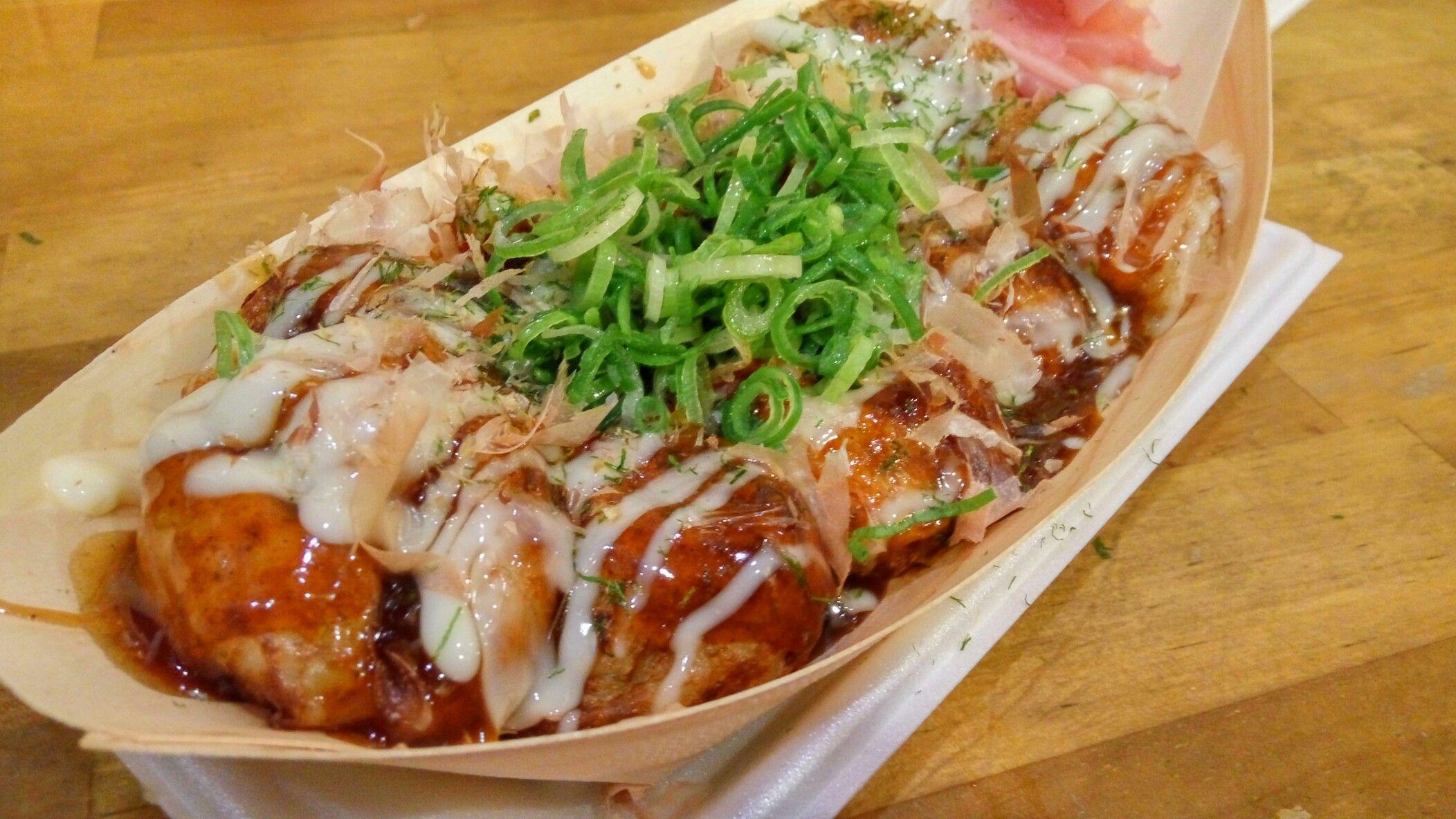 takoyaki di Dotonbori
