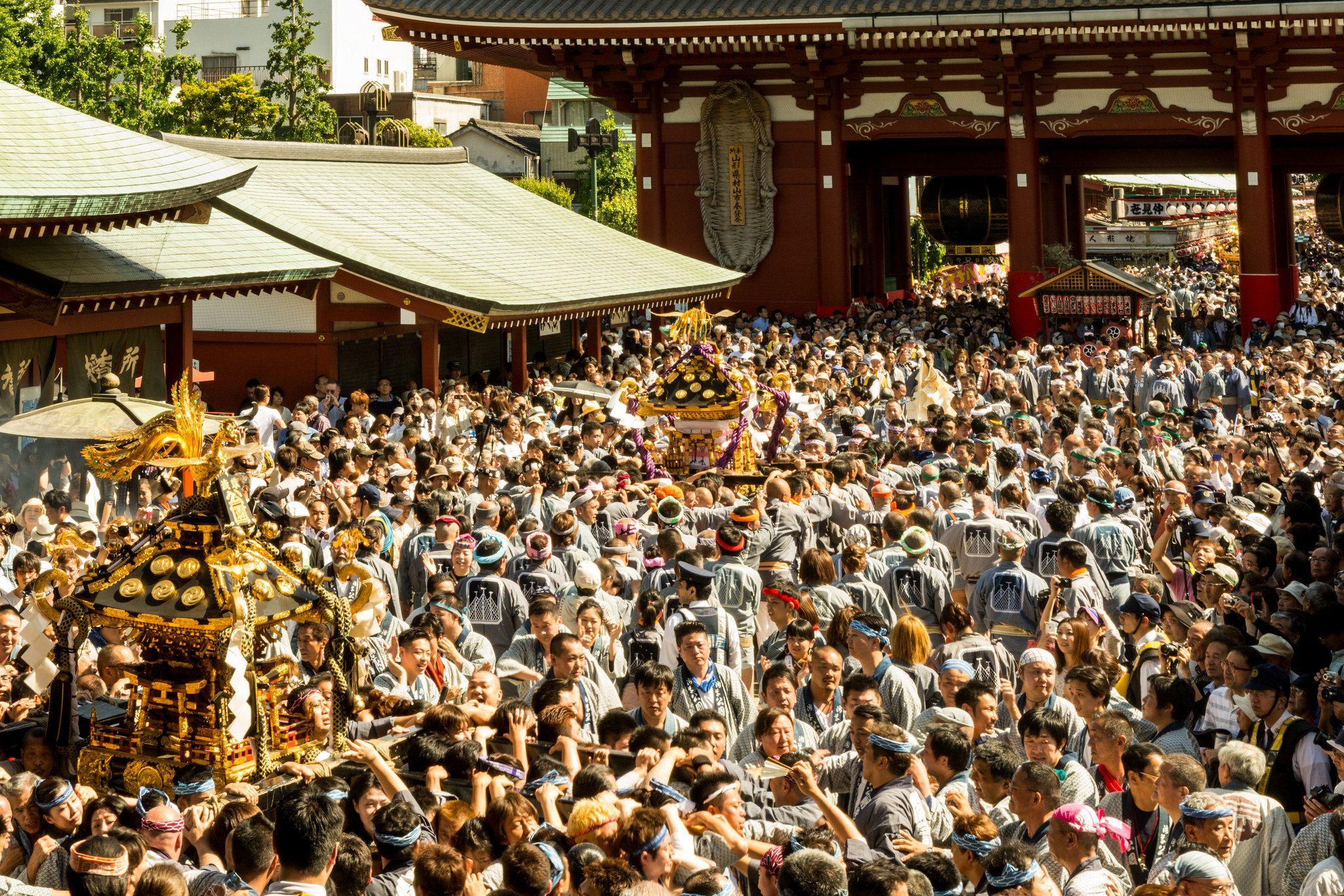 Festival Sanja Matsuri, Salah Satu Festival Terbesar di Tokyo Yang Menjadi Pesona Asakusa