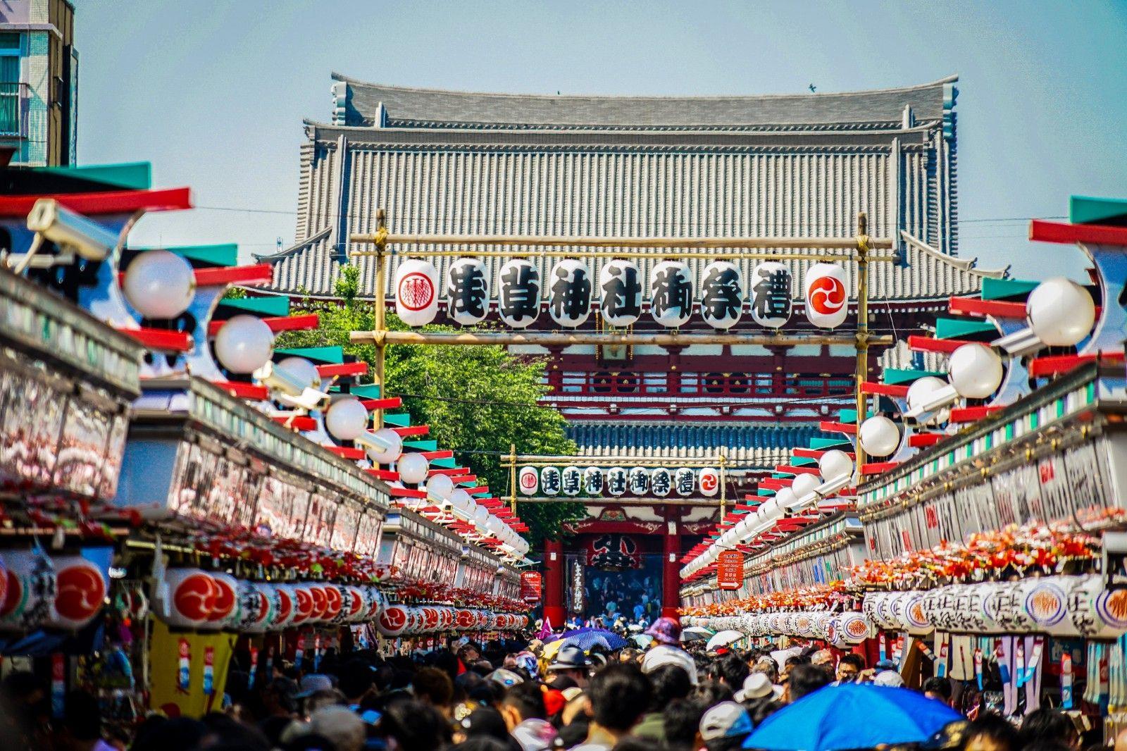 Rangkaian Acara di Festival Sanja Matsuri
