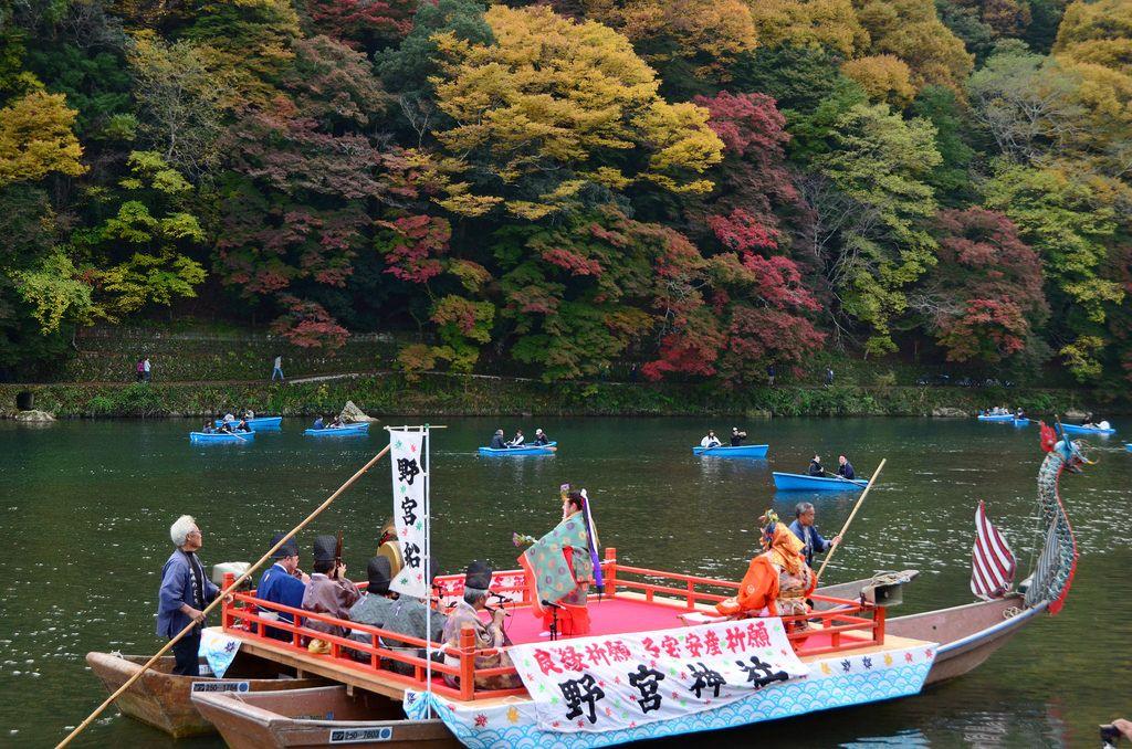 Arashiyama Momiji Festival, Warna-Warni Musim Gugur dengan Sentuhan Tradisi Kuno di Kyoto