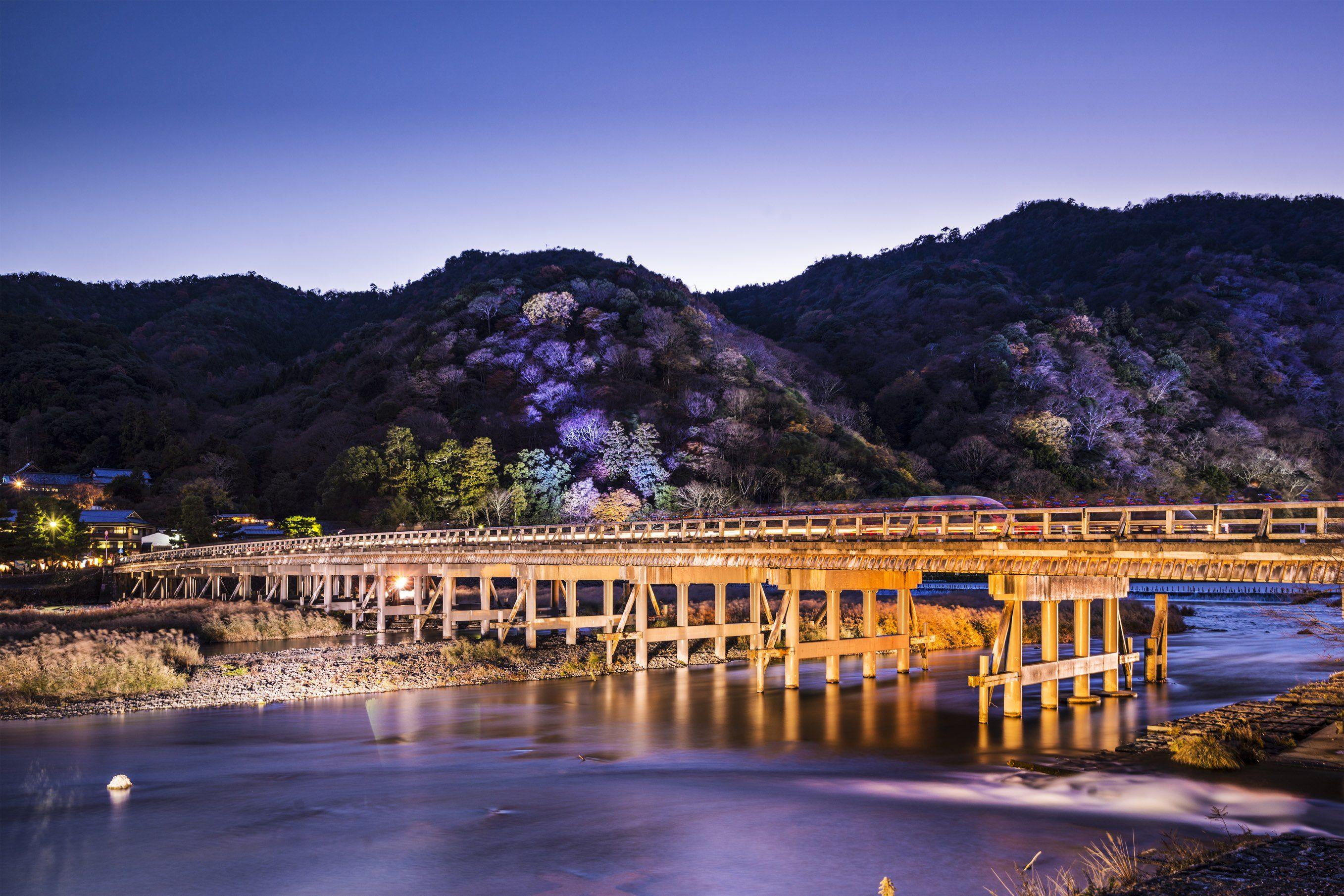 Tentang Togetsukyo, Jembatan dengan pemandangan Cantik di Kyoto