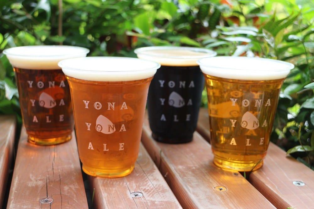 Beer gardens Jepang
