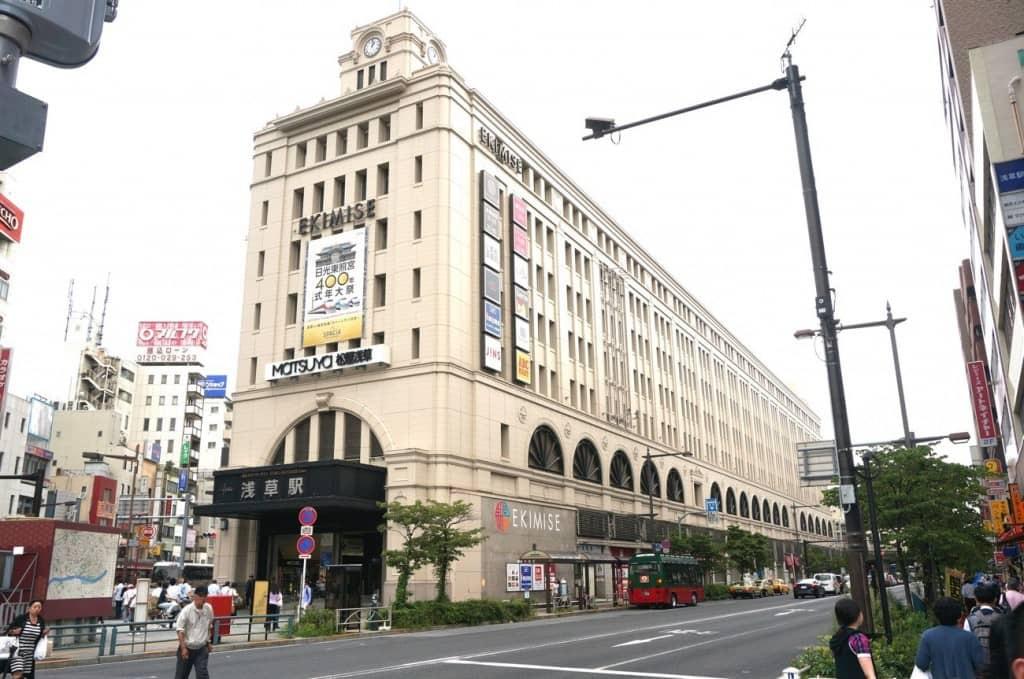 """Stasiun Asakusa"" Jalur Tobu Isesaki"