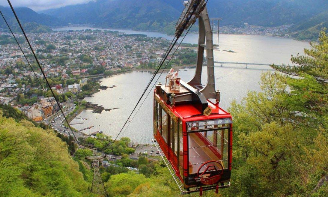 Kachi-Kachi Ropeway, Kereta Gantung Gunung Fuji di Jepang