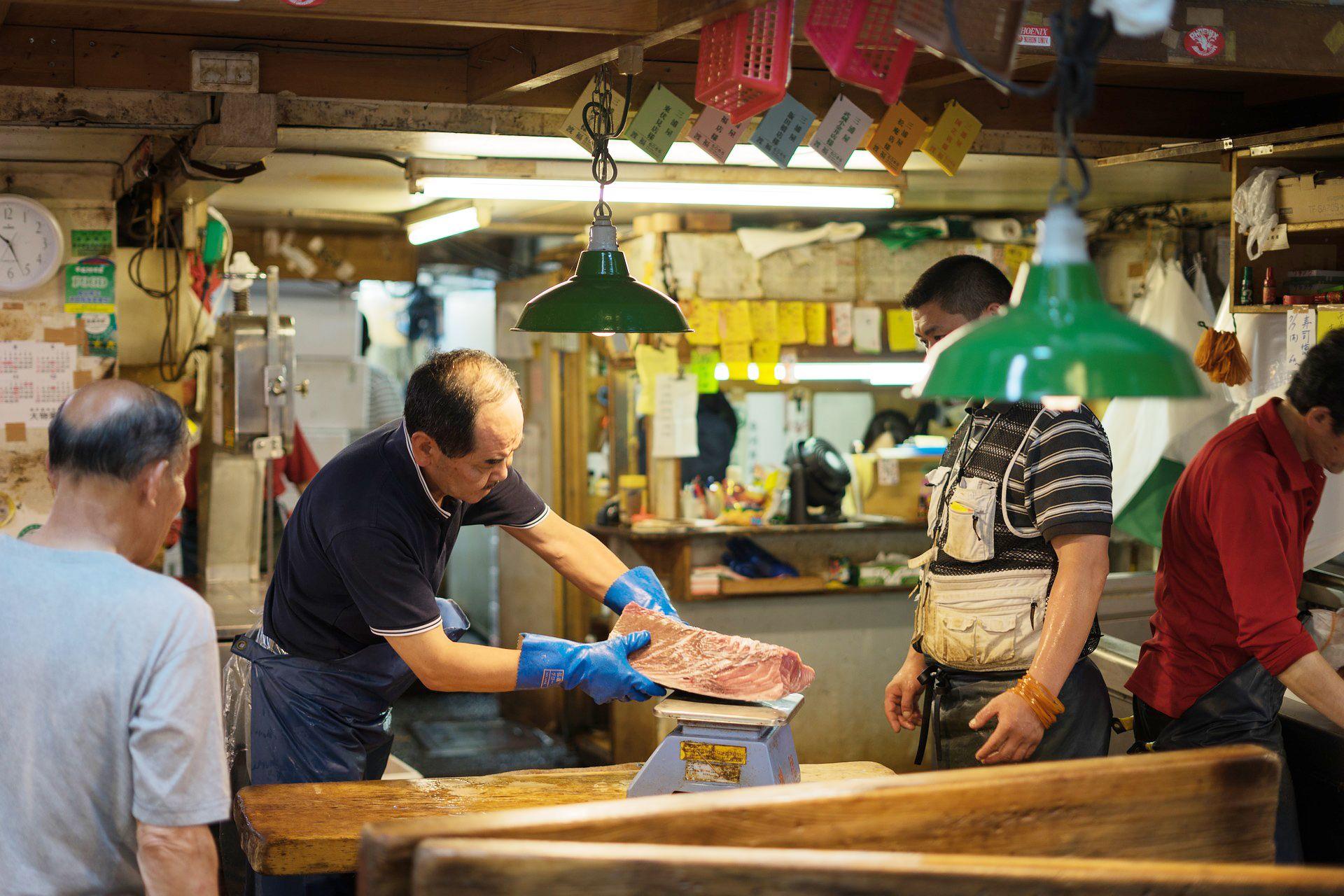 Lokasi Pasar Tsukiji Jepang