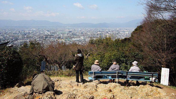 Pemandangan dari Persimpangan Yotsutsuji