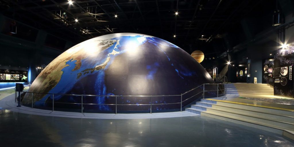 Ruang Pertunjukan di Observatorium Hall Sapporo