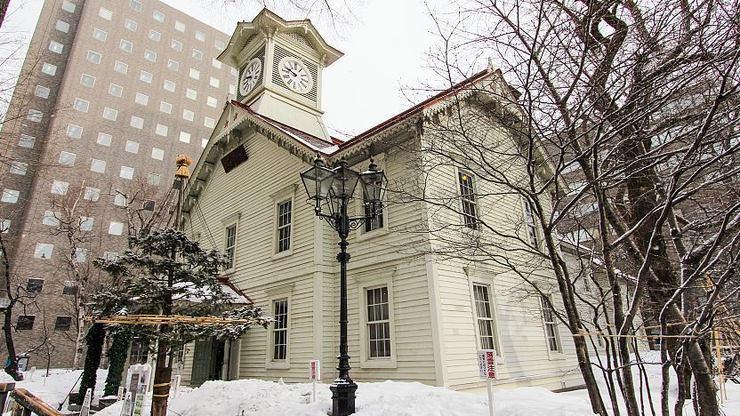 Sapporo Clock Tower, Museum Jam Besar Bersejarah di Jepang