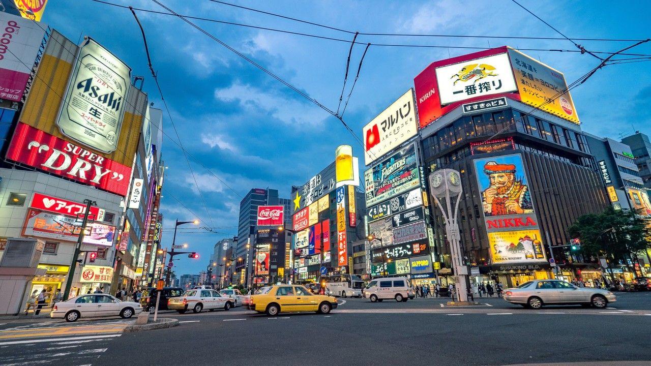 Susukino Sapporo, Tempat Wisata Hiburan Terbesar di Jepang