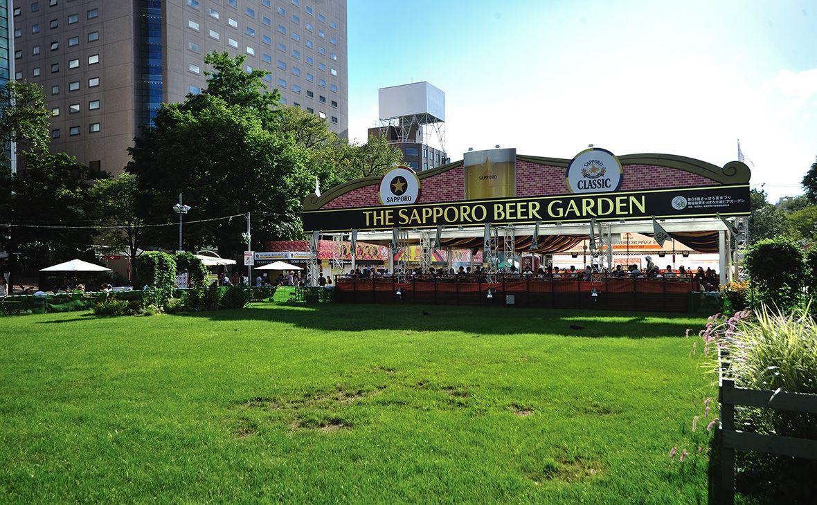 Taman Bir Sapporo Menyajikan Bir Yang Lezat Juga Makanan