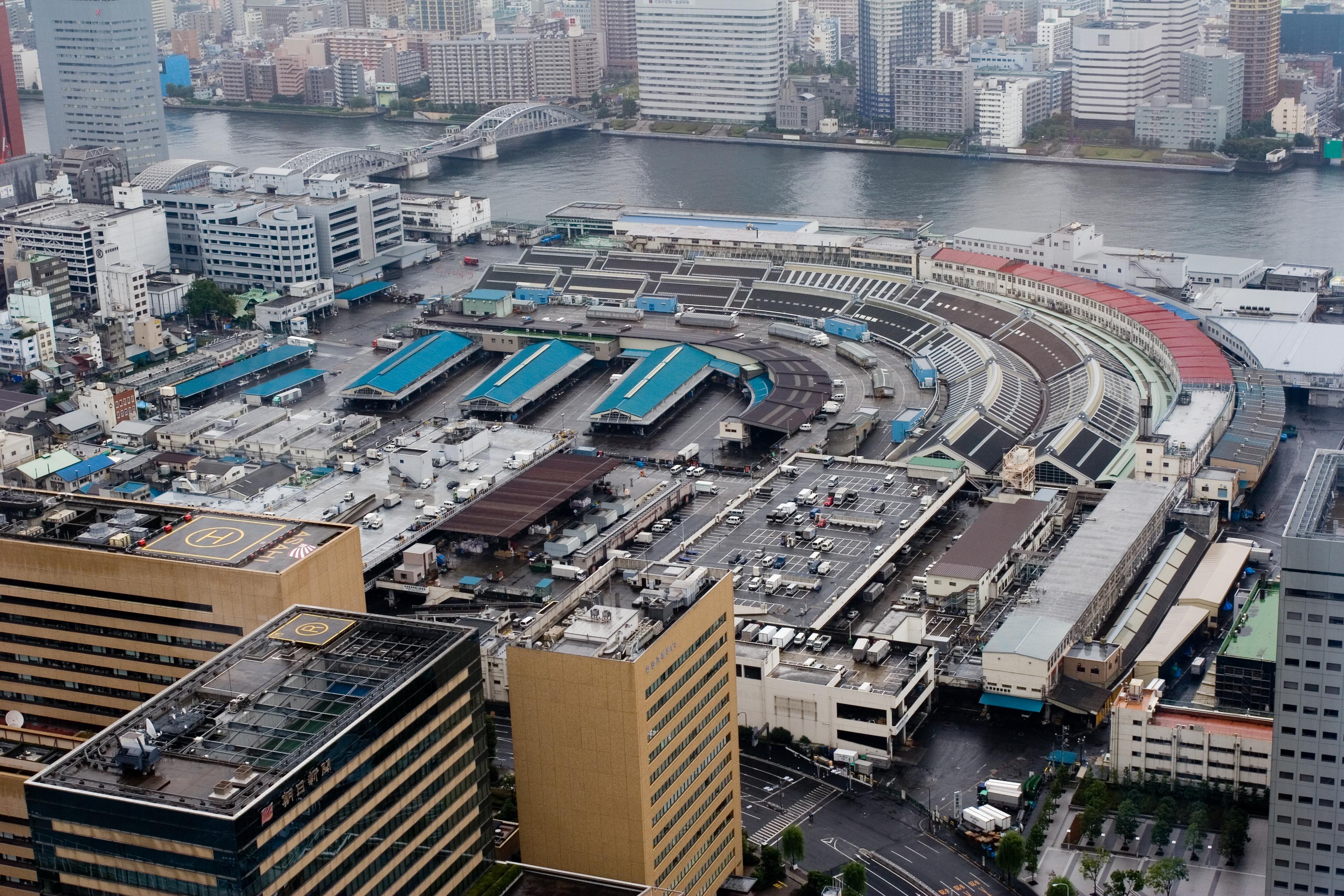 Tsukiji Fish Market Jepang, Wisata Pasar Ikan dan Kuliner di Tokyo