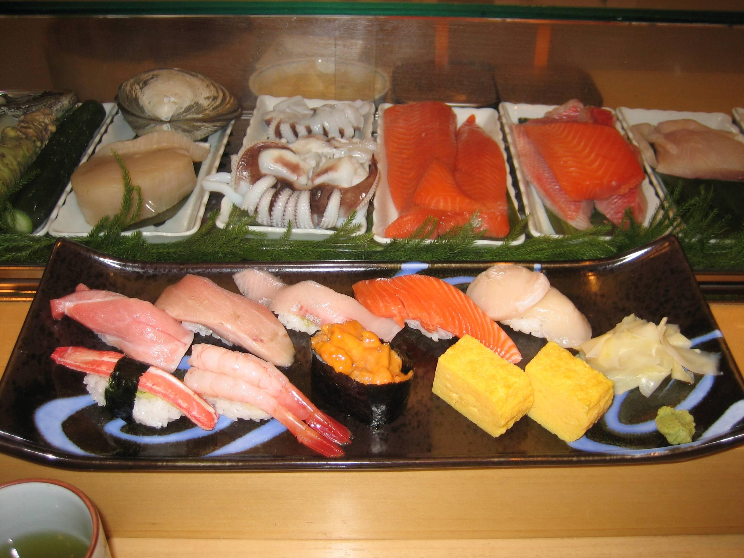 Tsukiji Fish Market Sushi