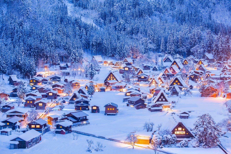 Festival Musim Dingin di Desa Shirakawago