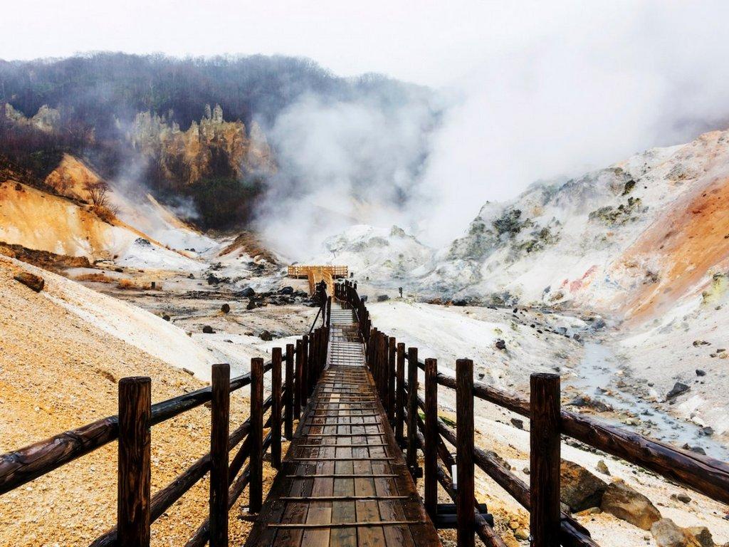 Jigokudani Hell Valley Noboribetsu, Kembaran Neraka Versi Dunia di Hokkaido