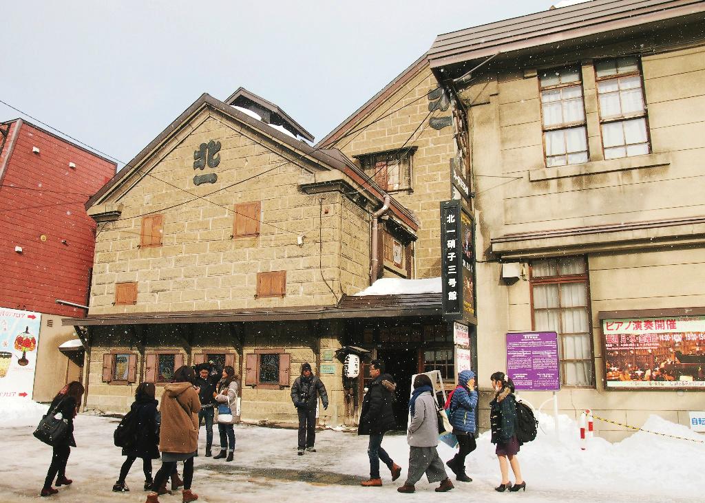 Kitaichi Glass Otaru, Artefak Kaca Dalam Gaya Jepang, Pedesaan, Dan Barat